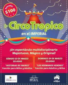 Lee más sobre el artículo Circo Trópico en el Imperial