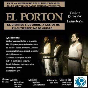 Lee más sobre el artículo EL PORTÓN en SADOP Mendoza