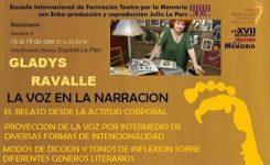 XVII Encuentro de Teatro por la Memoria