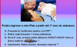 Ingresá a nuestro Plan Materno
