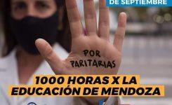 #1000HorasXEducaciónEnMendoza