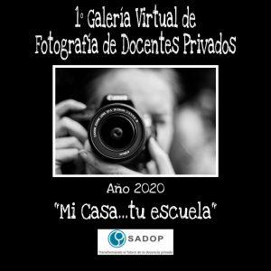 Lee más sobre el artículo 1° Galería Virtual: Fotografías de Docentes privados